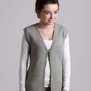 The Good Yarn Ashford Tekapo Yarn Knitted vest
