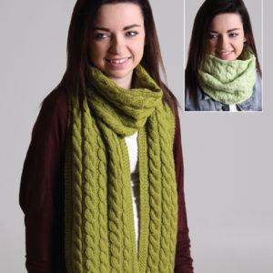 The Good Yarn Ashford Knitted Scarf