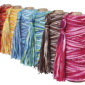 The Good Yarn Ashford Caterpillar Cotton Colours