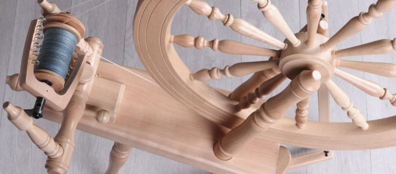 Spinning Wool on the Traditional Ashford Wheel