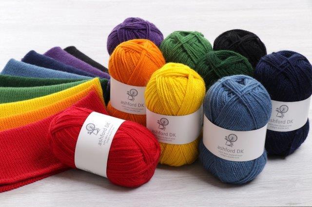 Double Knit The Good Yarn Ashford Classics Brights