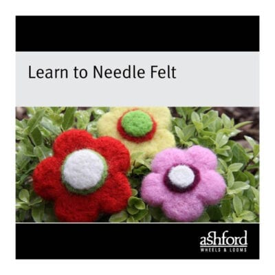 The Good Yarn Ashford Learn to Needle Felt