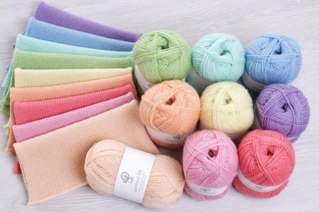Double Knit The Good Yarn Ashford Pastels