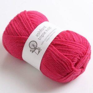 The Good Yarn Ashford Triple Knit ATK801_Fuschia