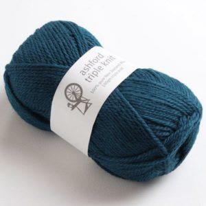 The Good Yarn Ashford Triple Knit 12 ply ATK807_Peacock