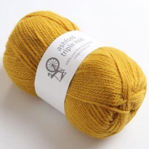 The Good Yarn Ashford Triple Knit ATK815_Old-Gold