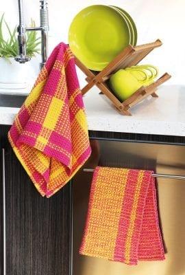 The Good Yarn Tea Towel Weaving Rigid Heddle Loom
